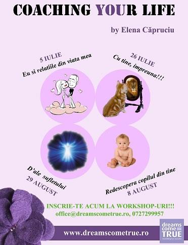 Coaching your Life cu Elena Capruciu