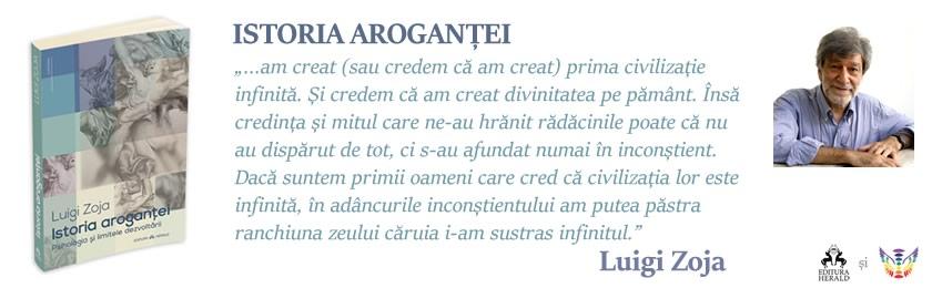 Istoria arogantei – Luigi Zoja: recenzie de carte