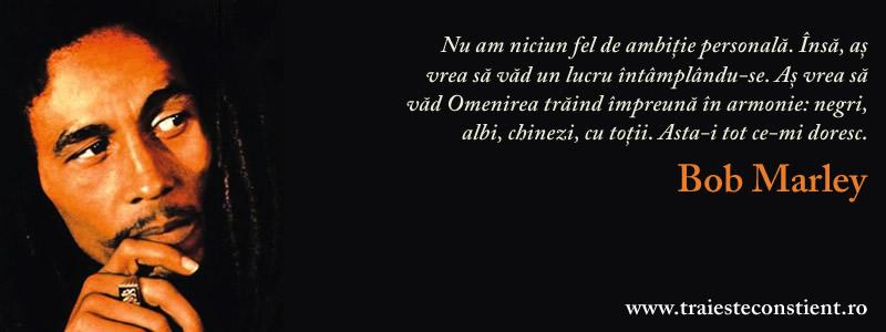 citate despre omenire Citat Bob Marley: Nu am niciun fel de ambiție personală citate despre omenire